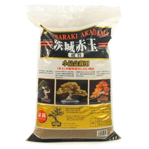 Akadama IBARAKI hard quality grano shohin (2-4 mm) saco 14 litros