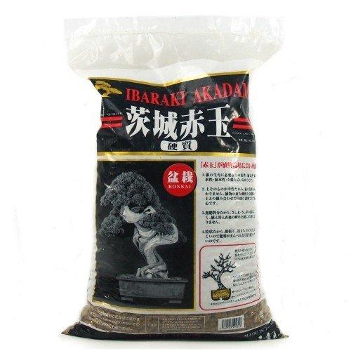 Akadama IBARAKI hard quality grano grueso (6-12 mm) saco 14...