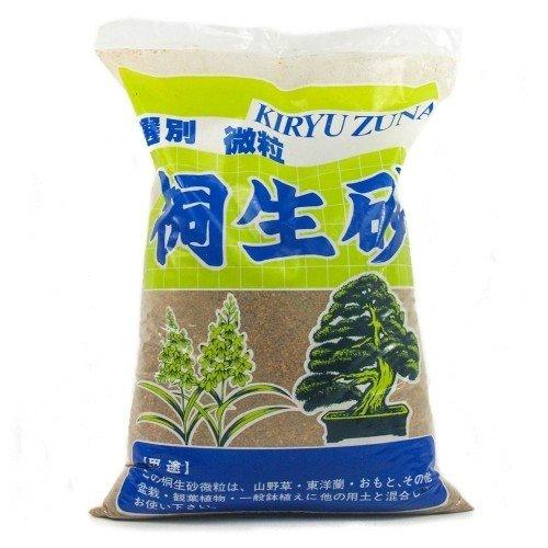 Sustrato Kiryuzuna grano shohin (2-4 mm) en saco 16 litros