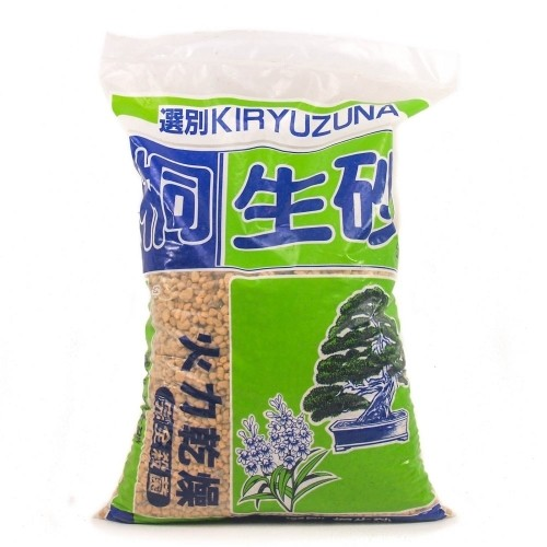 Sustrato Kiryuzuna grano grueso (6-12 mm) en saco 18 litros