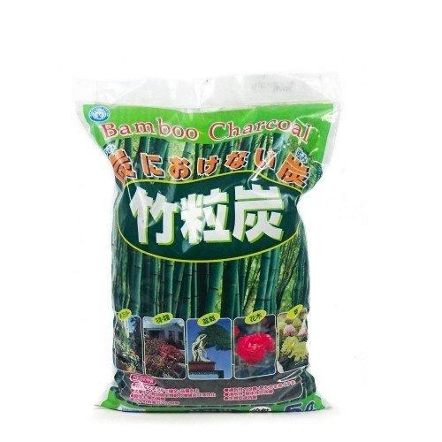 Carbón de bambú japonés grano medio (2-6 mm) saco 5 litros