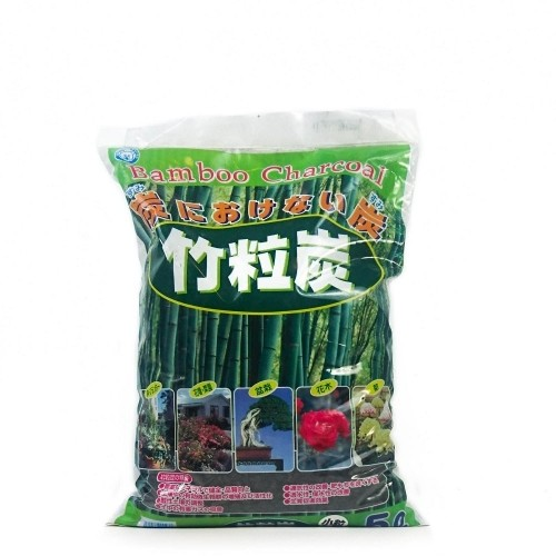Carbón de bambú japonés grano grueso (6-12 mm) saco 5 litros