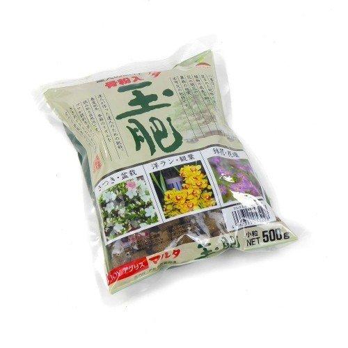 Abono sólido orgánico JOY TAMAHI pequeño en bolsa 500 g