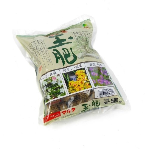 Abono sólido orgánico JOY TAMAHI grueso en bolsa 500 g