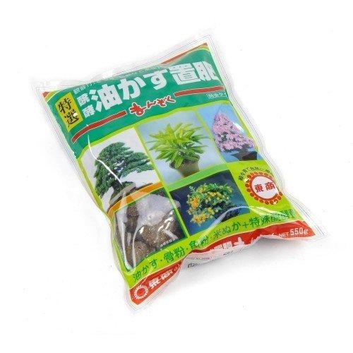 Abono sólido orgánico TOSHO MANZOKU grueso en bolsa 550 g