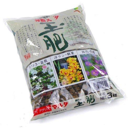 Abono sólido orgánico JOY TAMAHI pequeño en bolsa de 3 kg