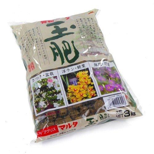 Abono sólido orgánico JOY TAMAHI grueso en bolsa de 3 kg