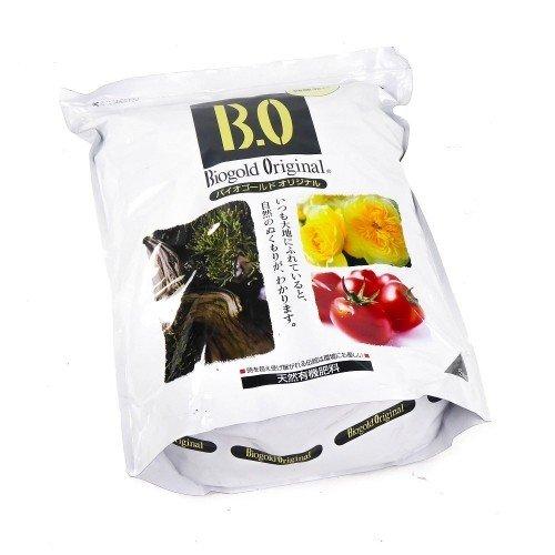 Abono sólido orgánico BIOGOLD en bolsa de 5 kg