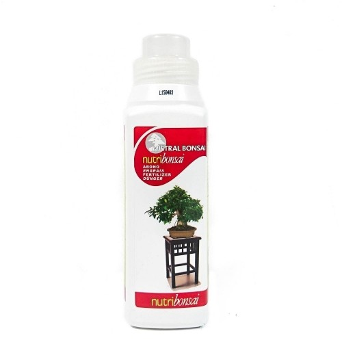 Abono líquido NUTRIBONSAI en botella de 250 ml