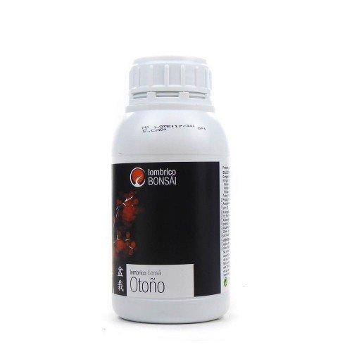 Abono líquido Lombrico Bonsái OTOÑO botella 500 ml
