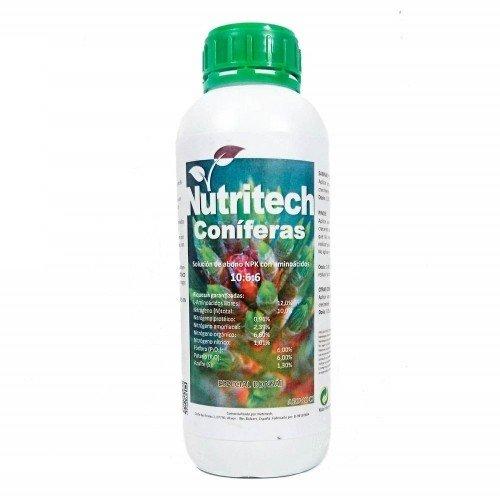 Abono líquido Coníferas NUTRITECH en botella 1 litro