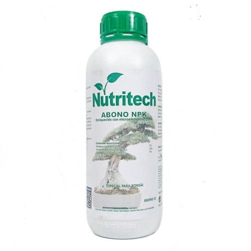 Abono líquido NPK NUTRITECH en botella 1 litro