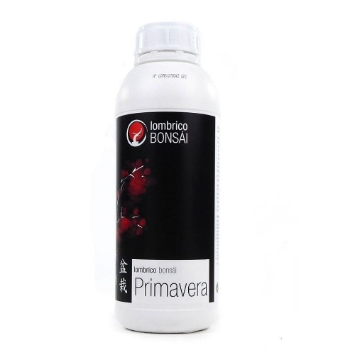 Abono líquido Lombrico Bonsái PRIMAVERA botella 1 litro