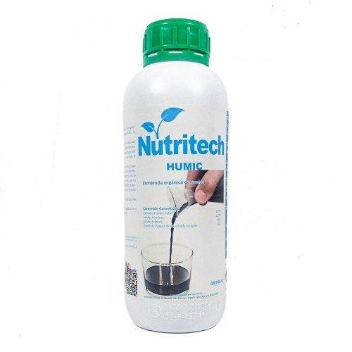 Humic NUTRITECH enmienda orgánica en botella de 1 litro