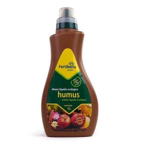 Humus líquido natural FERTIBERIA en botella de 1 litro
