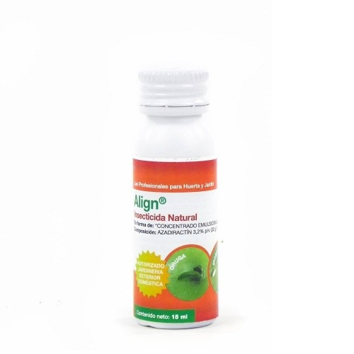 Insecticida natural ALIGN origen vegetal en botella de 15 ml