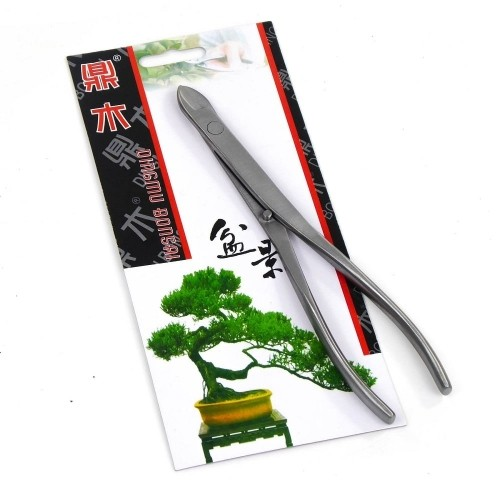 Tenaza corta alambre cuello largo 210 mm acero pulido DINGMU