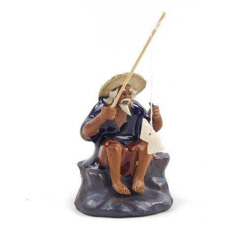 Figura 5 de cerámica china selección PLENITUD 7 cm