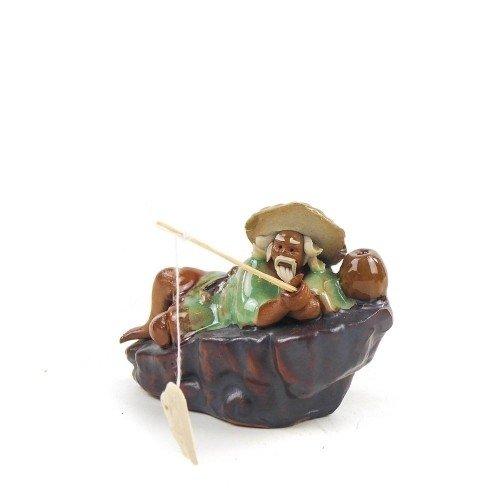 Figura 8 de cerámica china selección PLENITUD 7 cm
