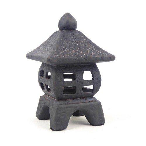 Linterna volcánica de cerámica - modelo 1 - 14x14x24 cm