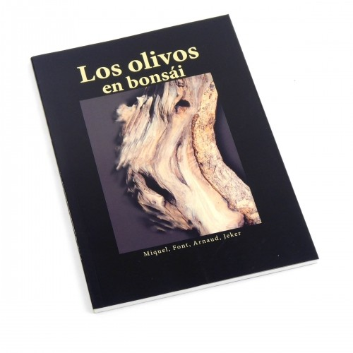 Libro Los olivos en bonsái - Editorial JARDIN PRESS