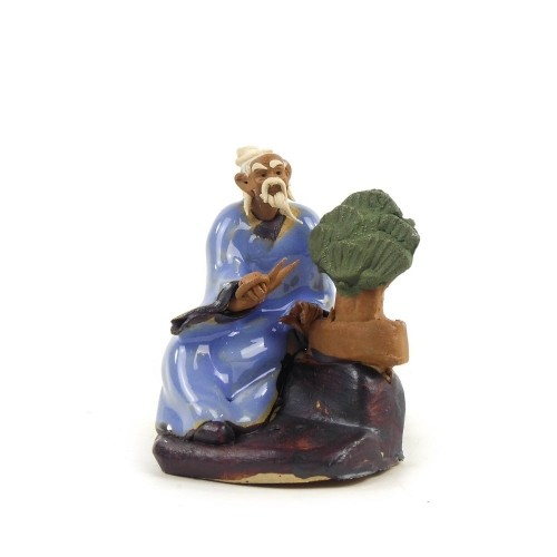 Figura bonsaísta 1 de cerámica china selección CREATIVIDAD 6 cm