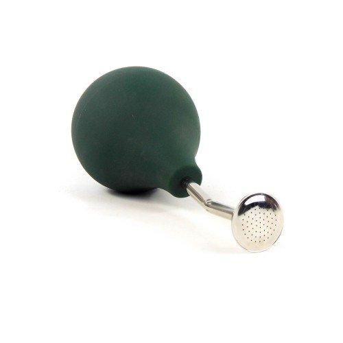 Regadera con forma pera tubo corto verde 250 ml