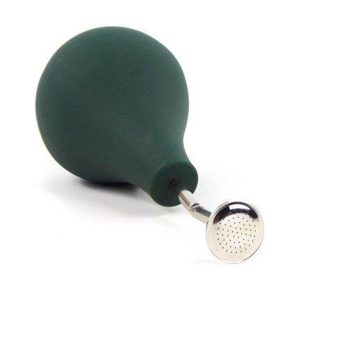 Regadera con forma pera tubo corto verde 500 ml