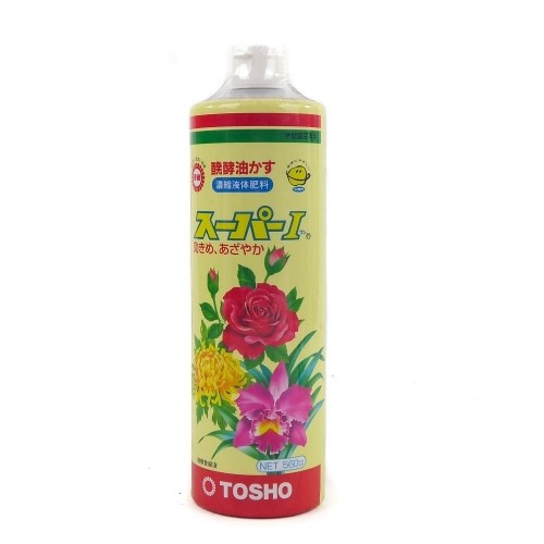 Abono orgánico líquido TOSHO SÚPER botella 560 ml