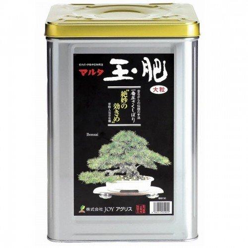 Abono sólido orgánico JOY TAMAHI pequeño en lata de 8 kg