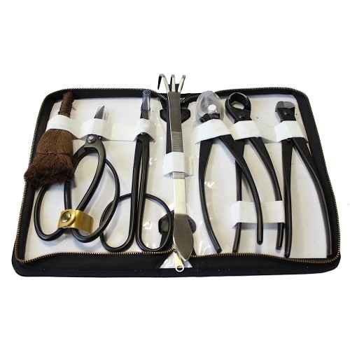Estuche de piel con 7 herramientas RYUGA