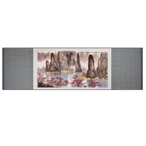 Pintura tradicional china, kakemono  medidas 30x100 cm