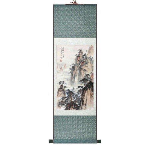 Pintura tradicional china, kakemono medidas 140x45 cm