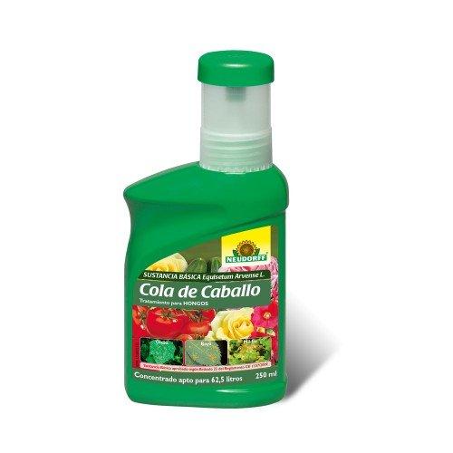 Cola de caballo acción fungicida NEUDORFF en botella de 250 ml