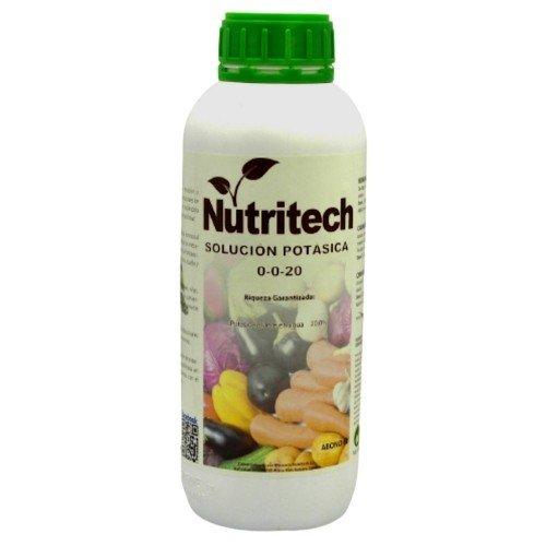 Solución potásica  NUTRITECH en botella de 1 litro